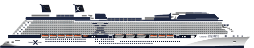 flota Celebrity Cruises,Valoracion Celebrity Solstice by Manuel Negrin