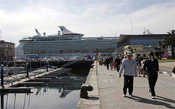 Independence of the Seas en La Coruña