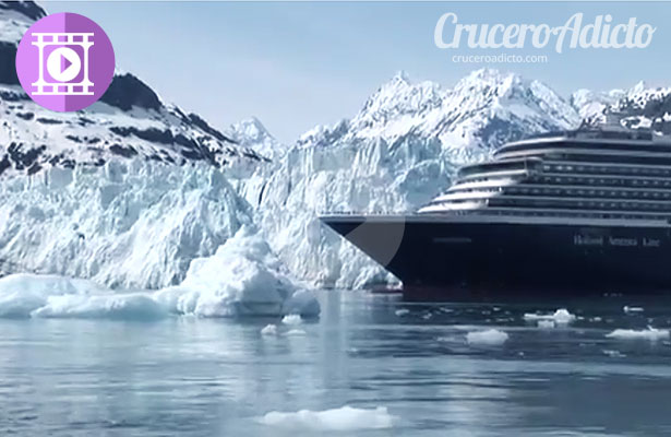Crucero en Alaska por Glacier Bay National Park, video #cruceros