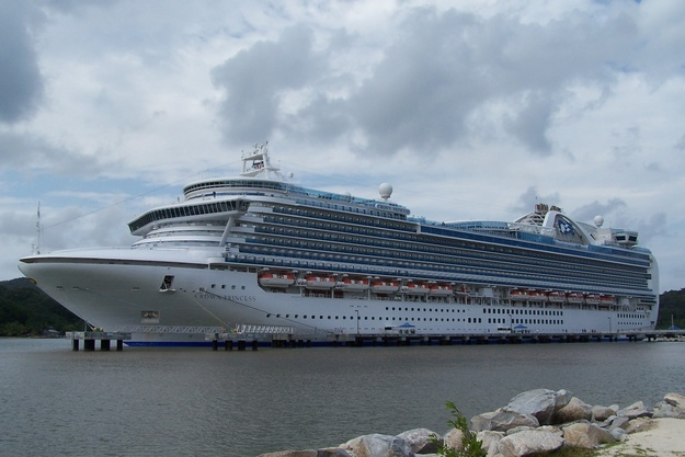 El Crown Princess de Princess Cruises