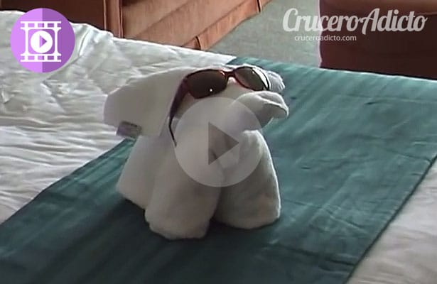 Hacer animales con toallas, video paso a paso
