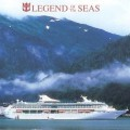 Postal oficial del Legend of the Seas realizada por Royal Caribbean