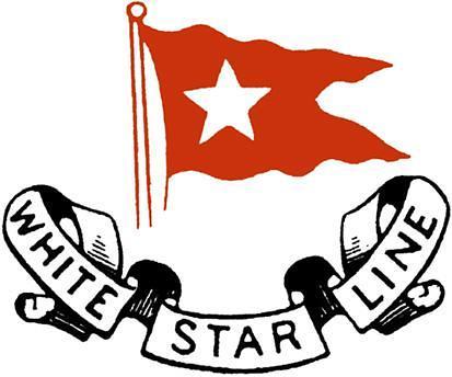 white star line, Logotipo de la historica compañía naviera White Star Line