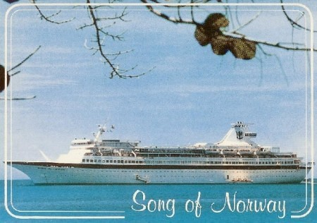 efemerides, royal caribbean, song of norway, ocean pearl, happy cruises - Viaje inaugural del Song of Norway de Royal Caribbean (7 noviembre 1970) - CruceroAdicto.com