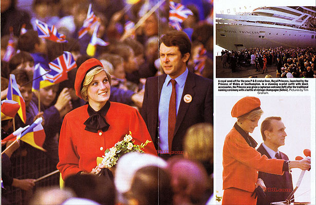 royal princess lady di Royal Princess bautizado por Lady Di, Princesa de Gales (15 noviembre 1984) - CruceroAdicto.com