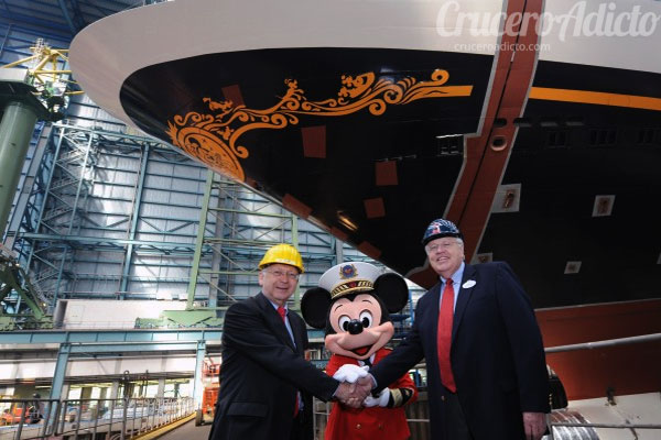 disney dream entrega