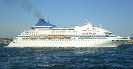 Estado actual del MS Cristal de Louis Cruises