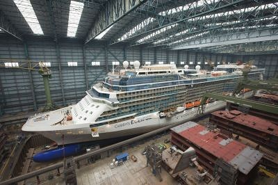 Botado el Celebrity Eclipse