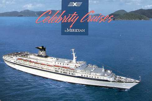 Meridian primer barco Celebrity Cruises
