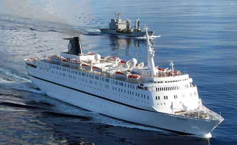 El petrolero Marqués del la Ensenada escoltó posteriormente el barco de MSC Piratas somalíes atacan el MSC Melody (25 abril 2009) - CruceroAdicto.com