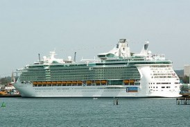 Bautizado en Southampton el Independence of the Seas