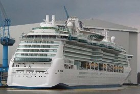 Royal Caribbean recibe el Jewel of the Seas (22 abril 2004)