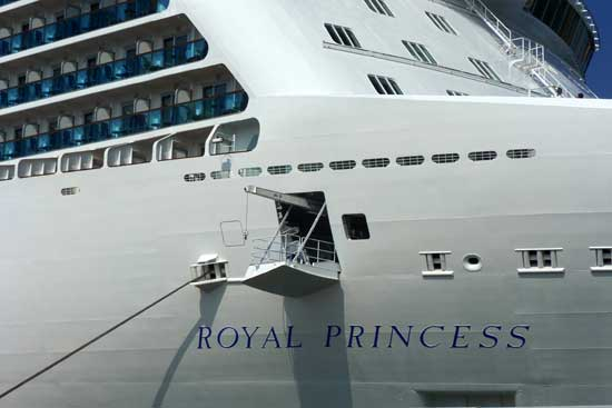 Royal Princess en Barcelona - CruceroAdicto.com