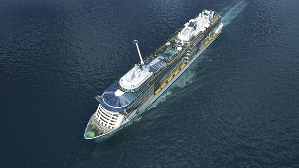 Quantum of the Seas a China en 2015