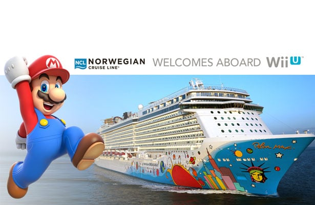 norwegian cruise line wii games