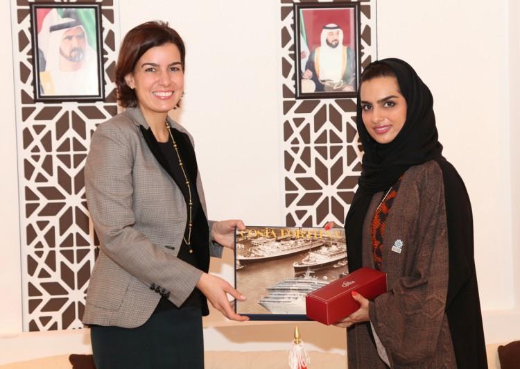 costa cruceros - La naviera Costa Cruceros recibe galardón del gobierno de Dubai - CruceroAdicto.com