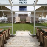 Celebrity Silhouette. .Interior feature photos..Lawn Club .