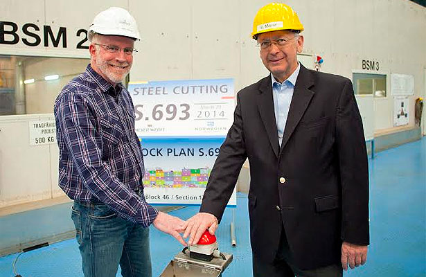norwegian escape Comienza la construccion del Norwegian Escape - CruceroAdicto.com
