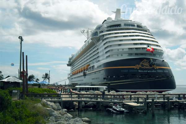 a bordo del Disney Fantasy