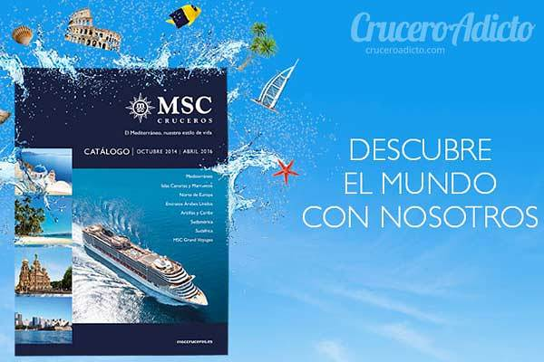catalogo msc cruceros 2014 2016