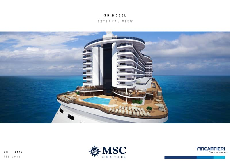 construccion del MSC Seaside Da comienzo la construccion del MSC Seaside - CruceroAdicto.com