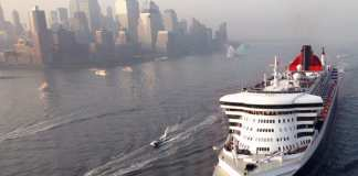 Queen Mary 2 llega a New York