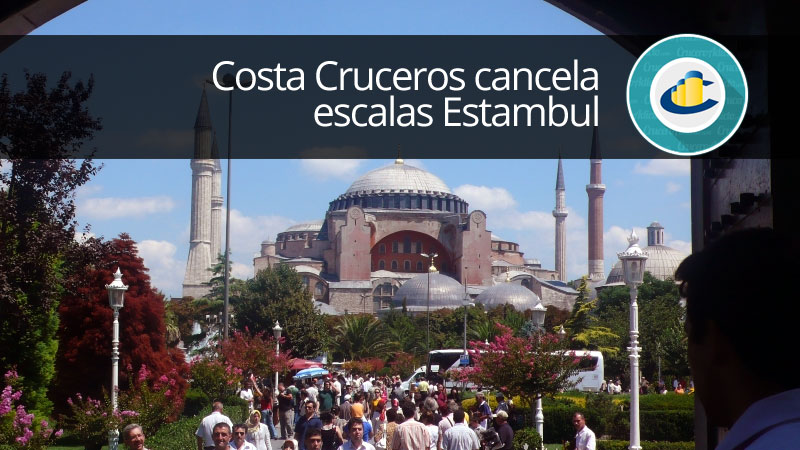 Costa Cruceros cancela escalas Estambul