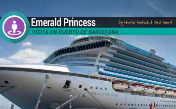 Emerald Princess en Barcelona