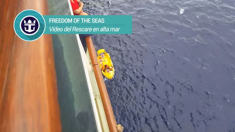 freedom of the seas rescate