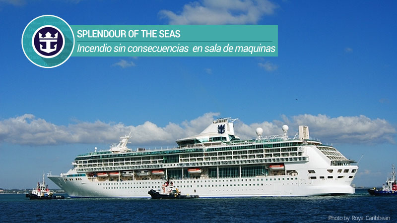 incendio splendour of the seas
