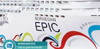norwegian Epic renovado