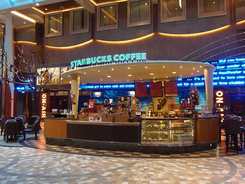 Curiosidades del Allure of the Seas curiosidades del allure of the seas - allure starbucks - 6 Curiosidades del Allure of the Seas que seguro no conocías