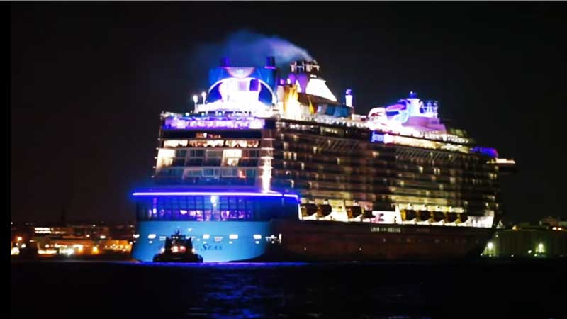 Cruceristas del Anthem of the Seas