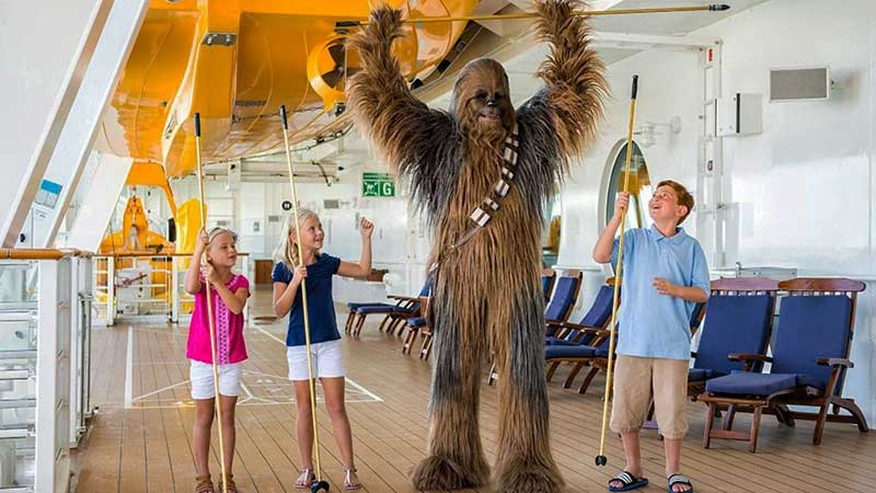 Star Wars Day at Sea Novedades en el Star Wars Day at Sea de Disney Cruise Line para 2018 - CruceroAdicto.com