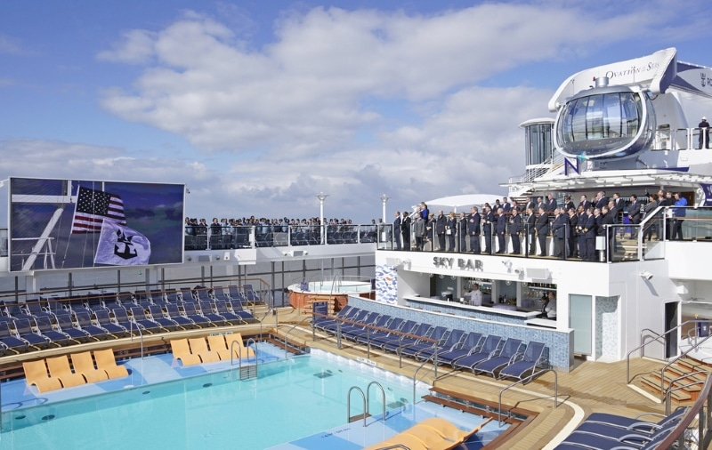 Royal Caribbean recibe Ovation of the Seas - CruceroAdicto.com