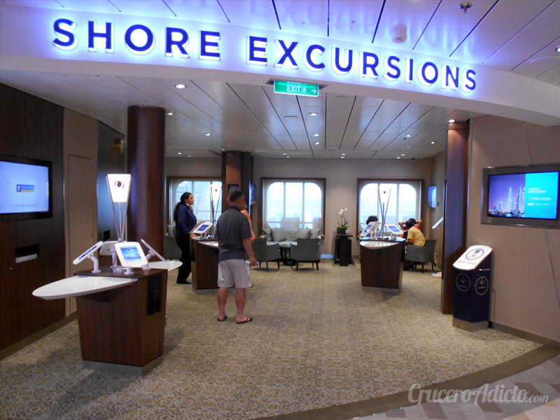 Ovation of the Seas NAVEGACIÓN Día 14