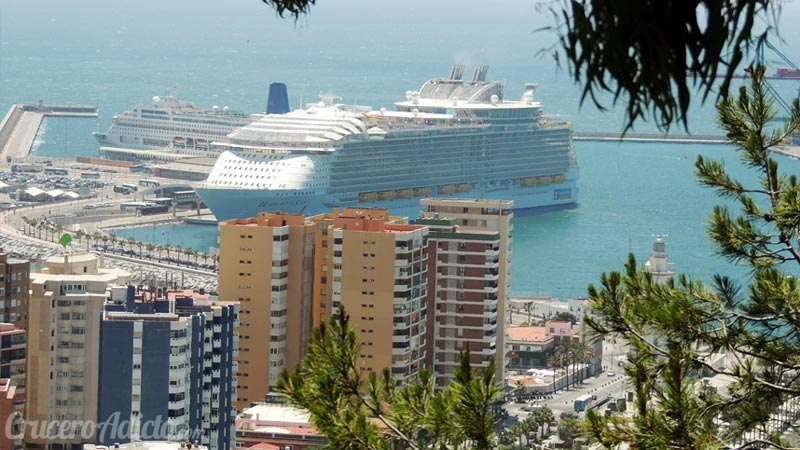 Harmony of the Seas en Málaga