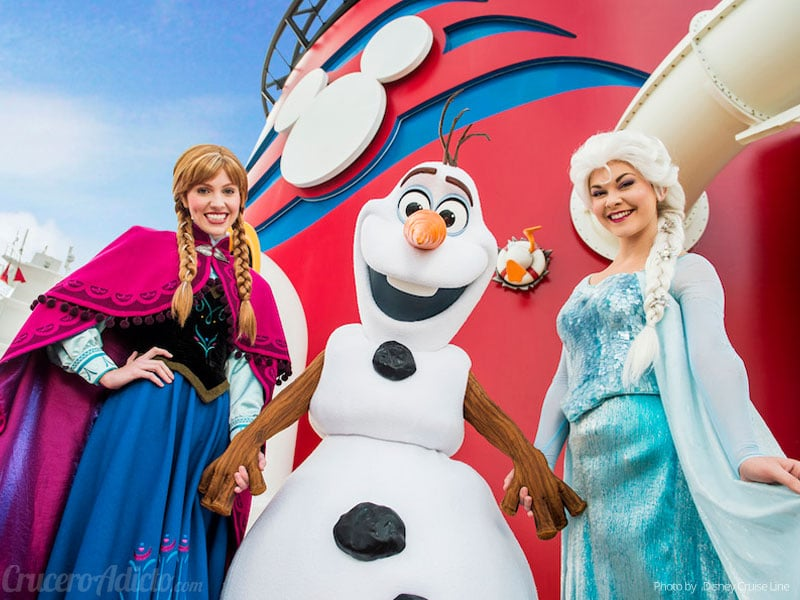 frozen disney cruise line
