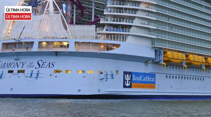 Accidente en el Harmony of the Seas