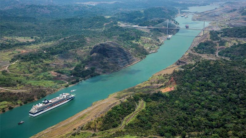 barcos de cruceros cruzarán el Canal de Panamá