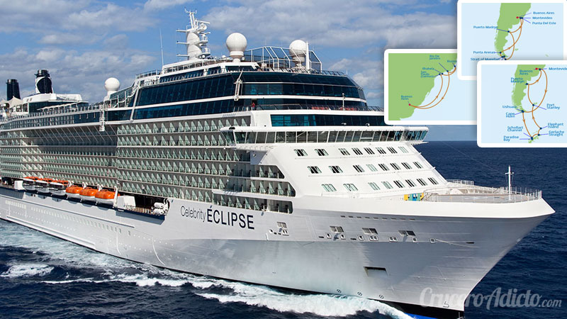 Celebrity Eclipse en Argentina
