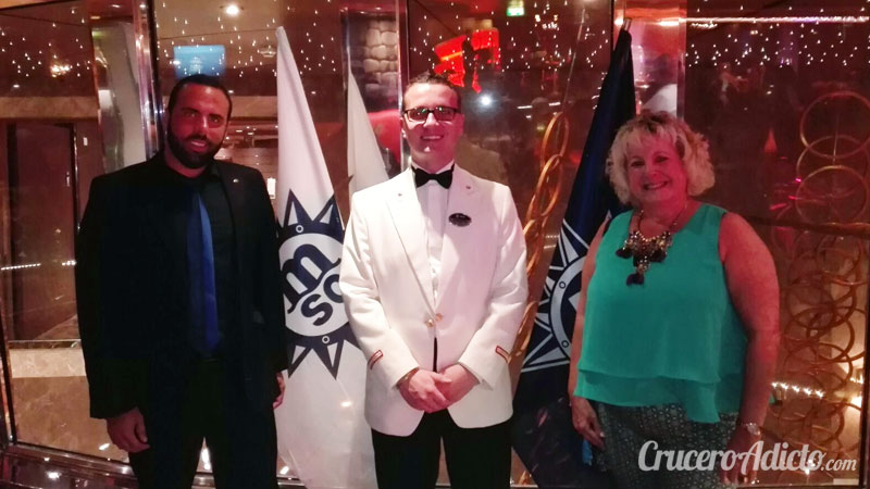 Guest Relations Manager del MSC Fantasia