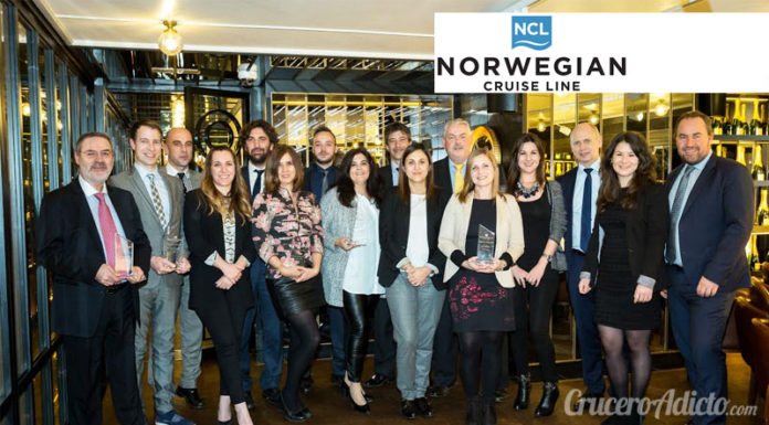 Norwegian Cruise Line Partners First Awards