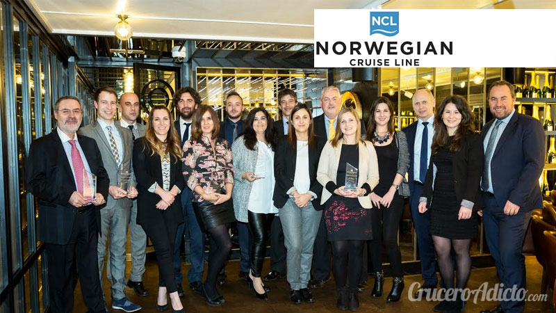 "Norwegian Cruise Line Partners First Awards Entregado el ""Norwegian Cruise Line Partners First Awards"" en Fitur 2017 - CruceroAdicto.com"