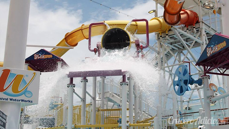Carnival Breeze Power Drencher