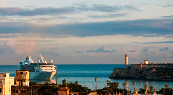 Empress of the Seas llega a Cuba