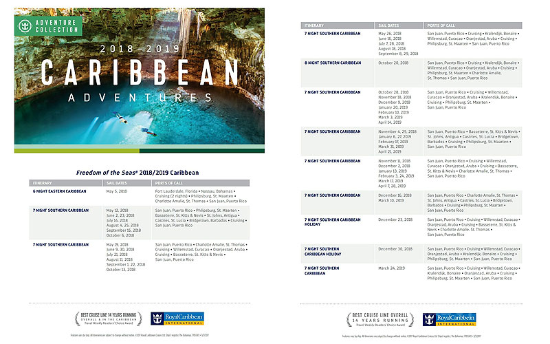 Royal Caribbean en Puerto Rico Freedom of the Seas