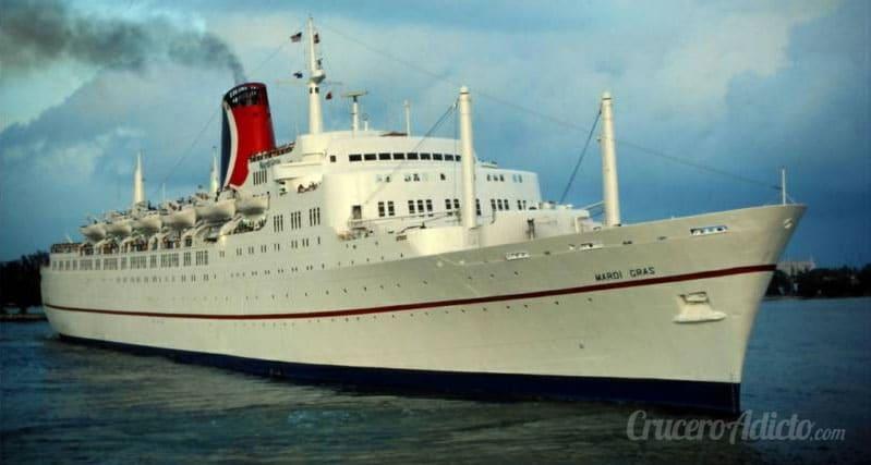 historia de Carnival Cruise Line
