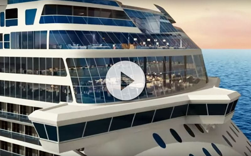 a bordo del Norwegian Bliss