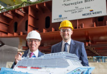 Construcción del Norwegian Bliss